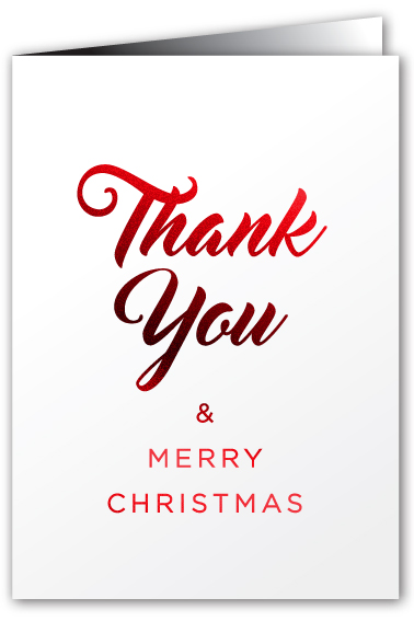 greeting cards    thank you  u0026 merry xmas