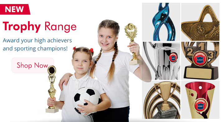 New Trophies - Sporting & Academic