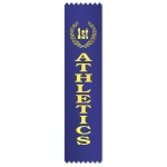 Athletics with place in wreath