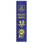 Athletics carnival with figures & rosette