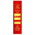 Participation Award 3 block with graphic