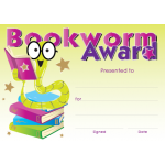 Bookworm Award - A6