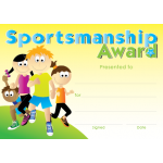 Sportsmanship Award - A6- Generic A6