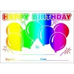 Happy Birthday - A6