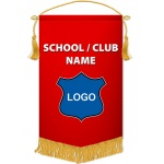 Large Fringed Banner