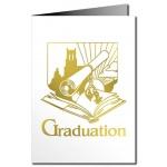 Graduation Card - Metallic Print