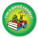 I'm a good reader! - 35mm Sticker