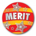 Merit - 25mm Sticker