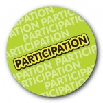 Participation - 25mm Sticker