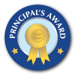 Principal's Award - 25mm Sticker