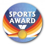 Sports Award - 25mm Sticker