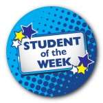 Student of the Week - 35mm Sticker