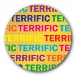 Terrific - 35mm Sticker