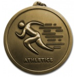 Athletics 60mm Medal