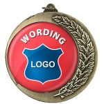 Medal with 50mm Custom Centre