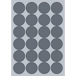 Circle Label - 45mm (24/Sheet)