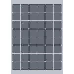 Square Label - 30x30mm (48/Sheet)
