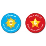 I Shine / I'm a Star at - Sticker