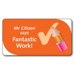 Teacher Says Fantastic Work! - Sticker