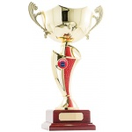 Twist Cup Trophy - Red/Gold