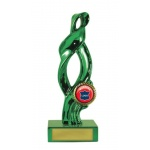 Swirl Trophy - Green