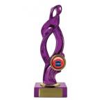 Swirl Trophy - Pink