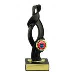 Swirl Trophy - Black