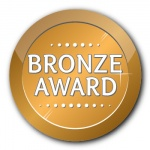 Bronze Award - 35mm Sticker
