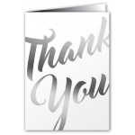 Thank You - Greeting Card - Fancy