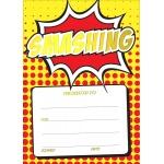 Smashing Comic - A6 Certificate