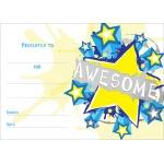 Amesome Burst - A6 Certificate