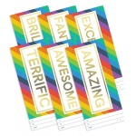 Rainbow Success Certificate Pack - DL