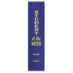 Student of the Week with detail lines