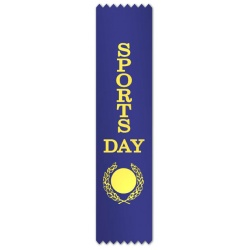 Sports Day with blank wreath