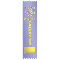Highly Commended with block