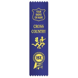 Cross Country with figures & rosette