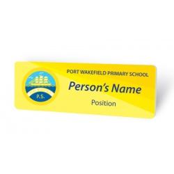 Gloss Name Badge