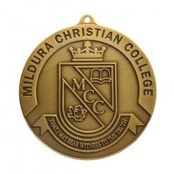 Custom Moulded Medal