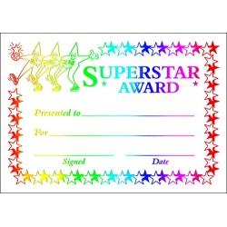 Superstar Award - Metallic Generic A6