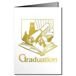 Greeting Cards Graduation Card Metallic Print