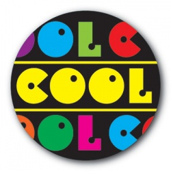 Cool - 35mm Sticker
