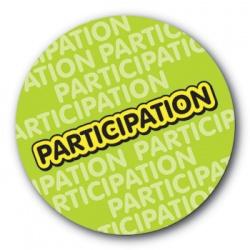 Participation - 35mm Sticker
