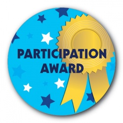 Participation Award - 35mm Sticker