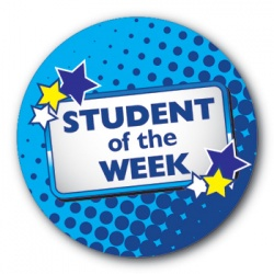 Student of the Week - 25mm Sticker