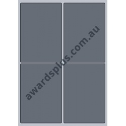 Full Colour A6 Book Sticker