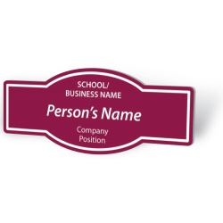 Engraved Name Badge - Buckle
