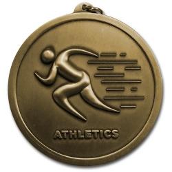 Athletics 60mm Medal