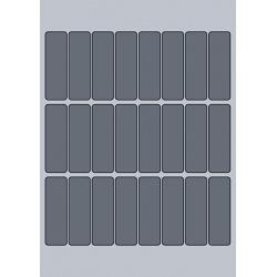 Rectangle Label - 23x73mm (24/Sheet)