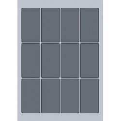 Rectangle Label - 45x84mm (12/Sheet)
