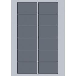 Rectangle Label - 77x46.5mm (12/Sheet)